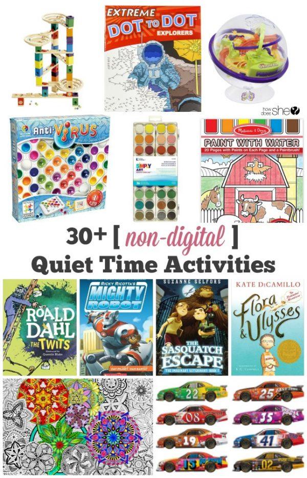 non-digital activities