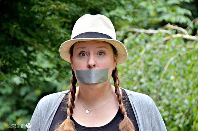 """Shut Up Parenting – Knowing When """"Nothing"""" is the Right Thing to Say"""