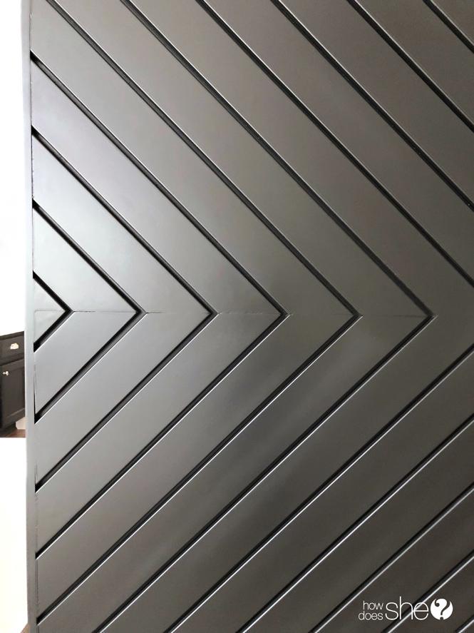 Build a Fixer Upper Style MODERN Barn Door