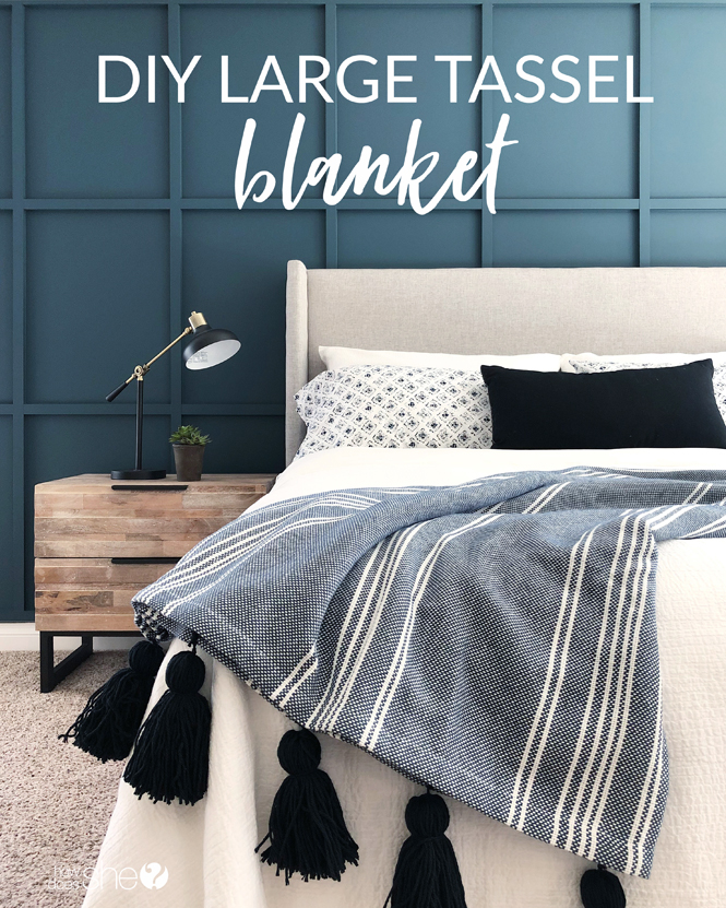 DIY Large Tassel Blanket