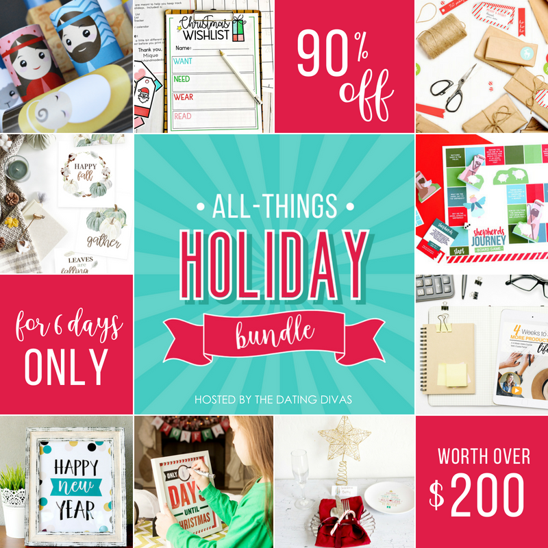 The ULTIMATE Holiday Printable Bundle - Everything you need for Every Holiday Occasion