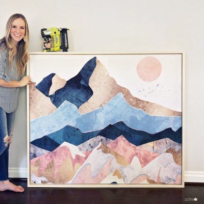 DIY Large Scale Art