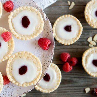 Easy Raspberry Almond Mini Tarts