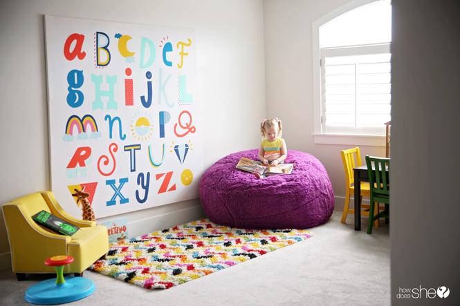 Easy and Impressive DIY Shower Curtain Art