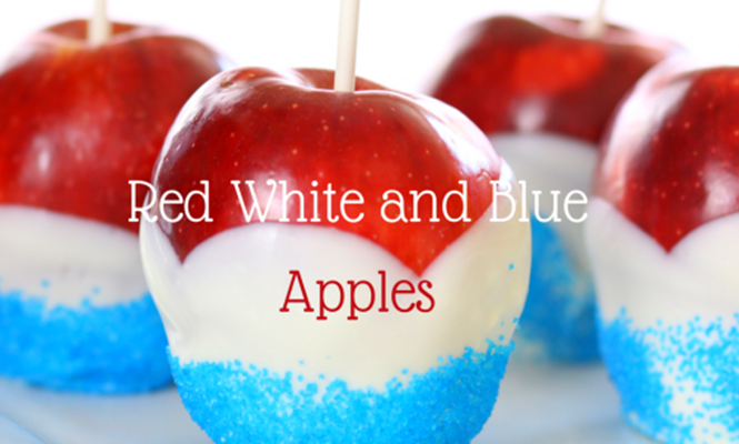 How to Make Red White and Blue Apples: Perfect for your Summer Barbecues!