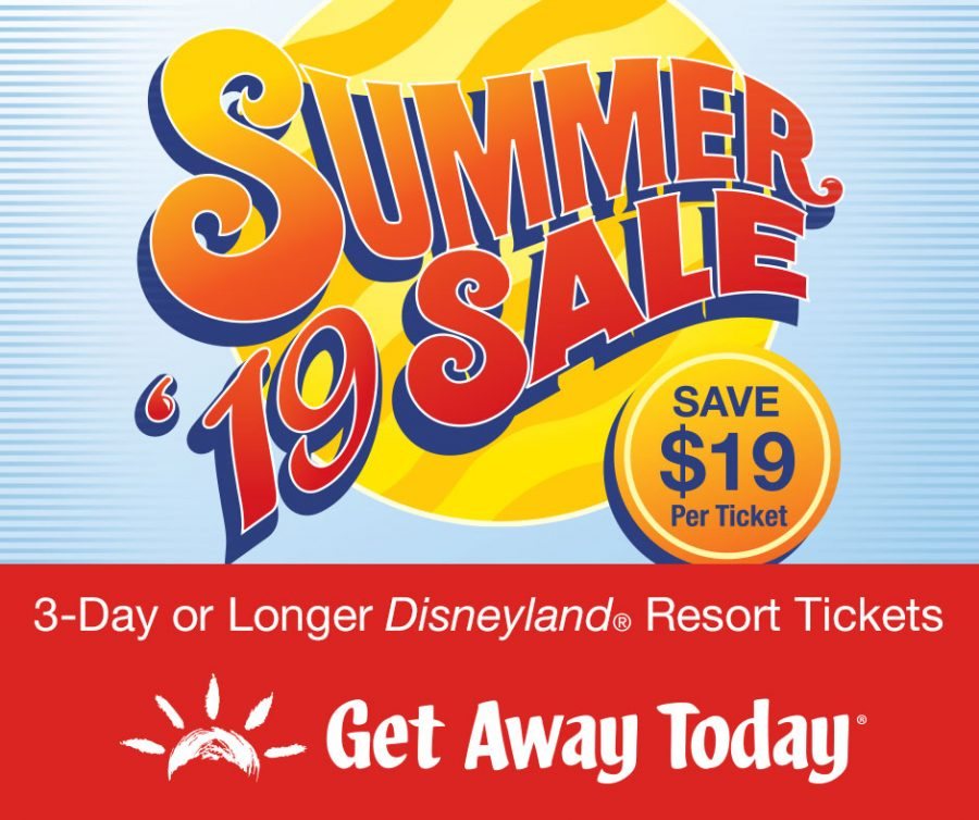 One Week FLASH sale on Summer Disneyland tickets and vacations!
