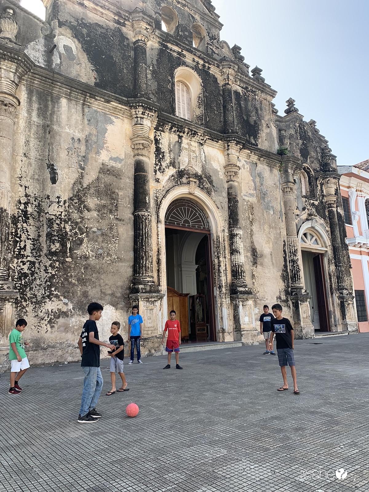 Grenada Nicaragua Travel Kids