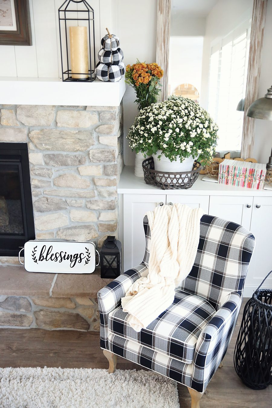 Creating a Cozy Fall Corner with Walmart