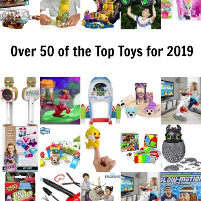 Over 50 of the Top Toys for 2019