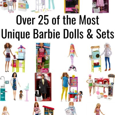 Over 25 of the Most Unique Barbie Dolls & Sets