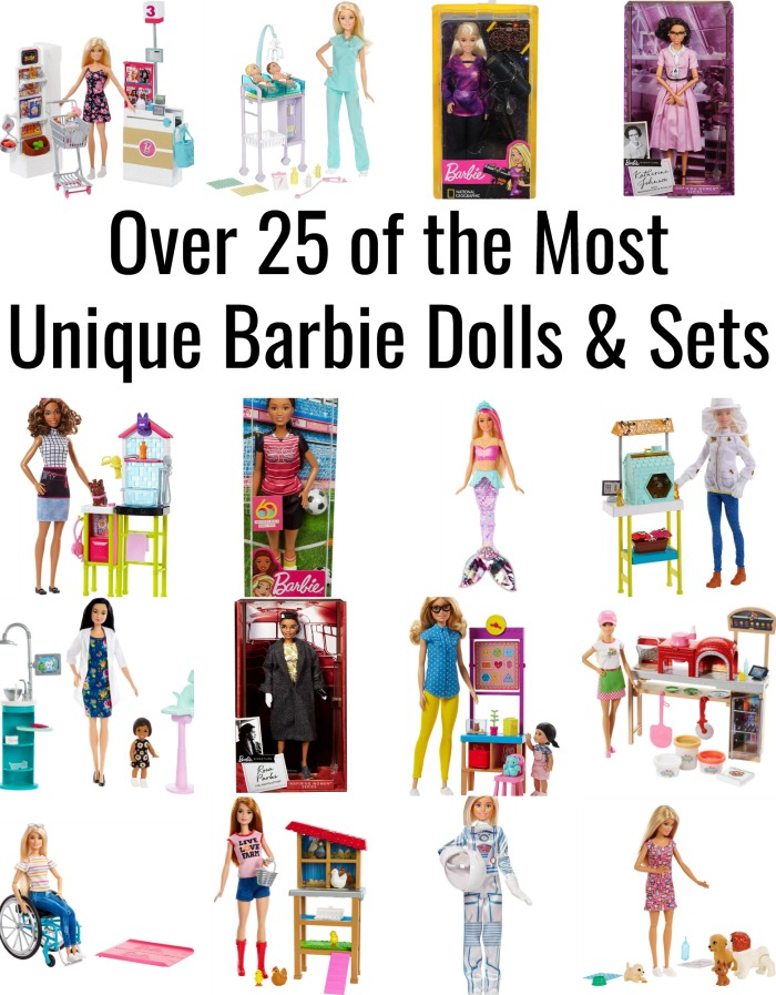 Over 25 of the Most Unique Barbie Dolls & Sets
