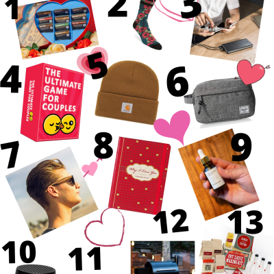 Valentine Gift Ideas for Your Man