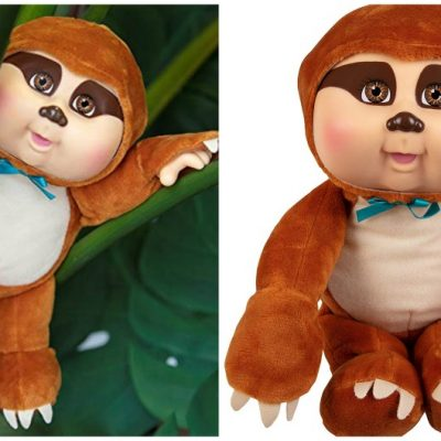 Sammy the Sloth Cabbage Patch Doll is selling like crazy and you can only buy it HERE!