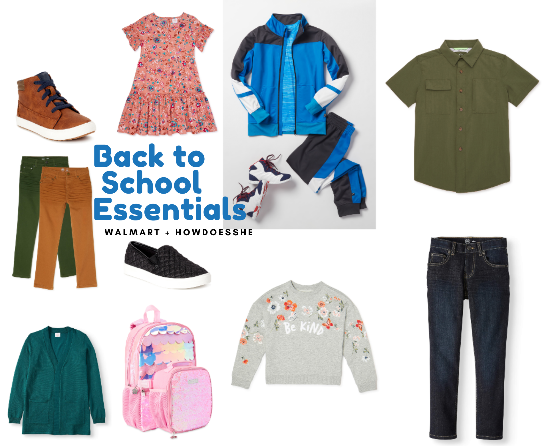 Back to School Wardrobe Essentials