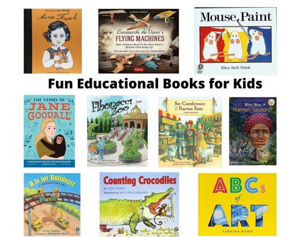 Fun Educational Books for Kids