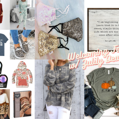 Welcoming Fall! The Best Zulily Fall Finds.