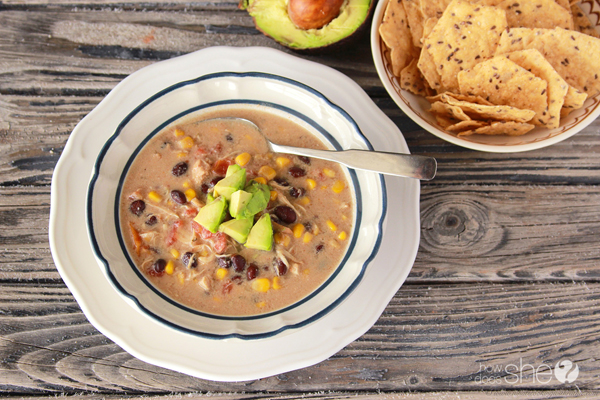 Scrumptious Slow Cooker Chicken Taco Soup