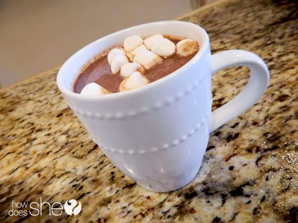 Creamy Holiday Crock Pot Hot Chocolate