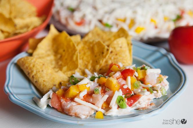 Amazing Layered Seafood Dip Recipe