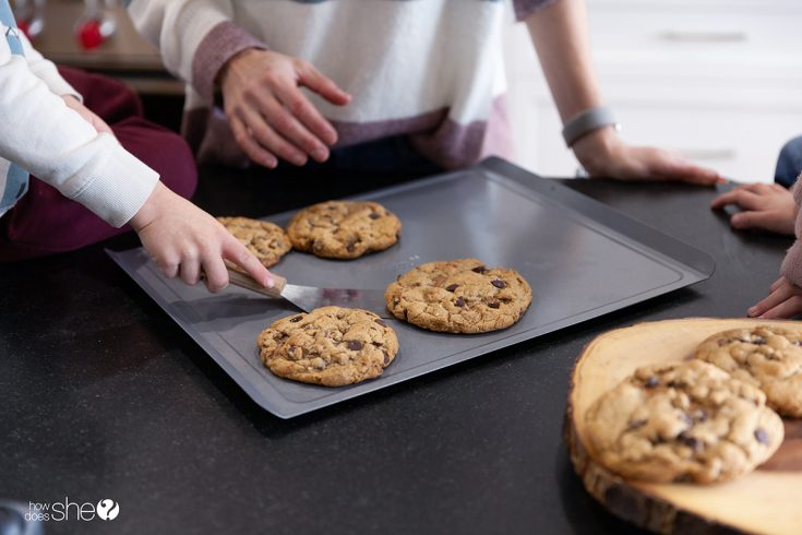 To-Die-For Stuffed Chocolate Chip Jumbo Cookies