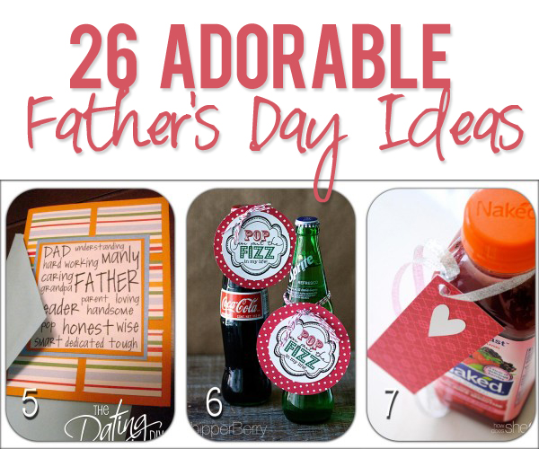 26 Adorable Fathers Day Ideas
