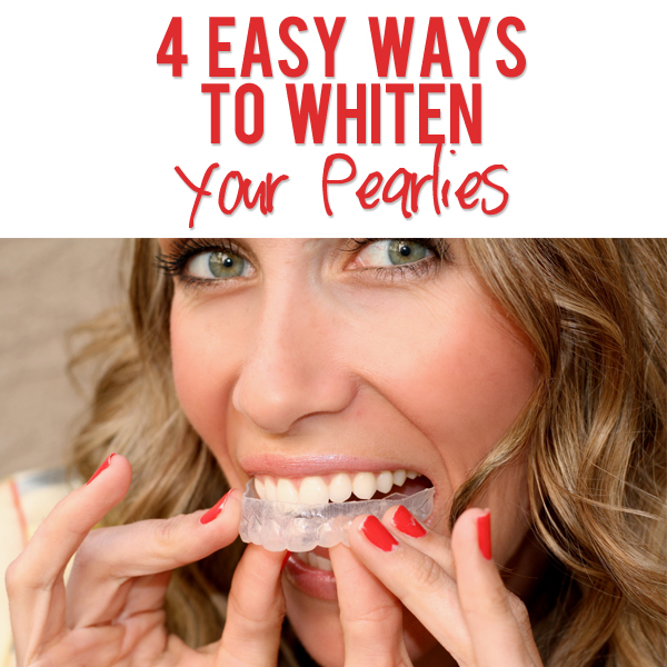 4 Ways To Whiten Your Pearlies Teeth