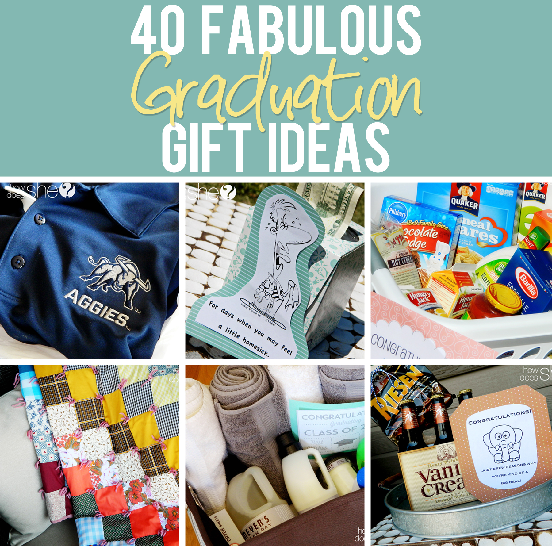 Graduation gift ideas that are perfect for any graduate 40 graduation gift ideas howdoesshe graduationgiftideas solutioingenieria Images