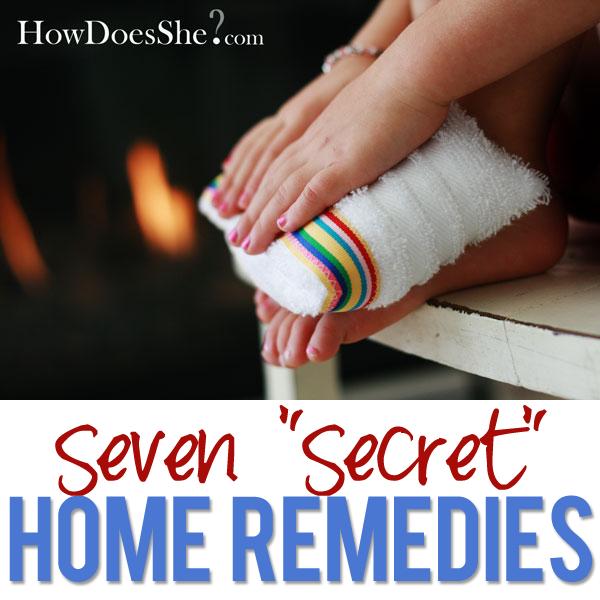 7 natural home remedies