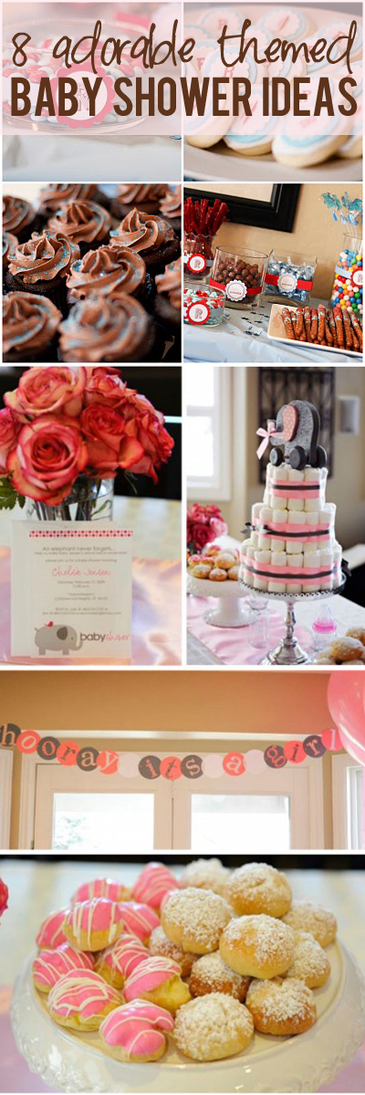 8 Adorable themed baby shower ideas