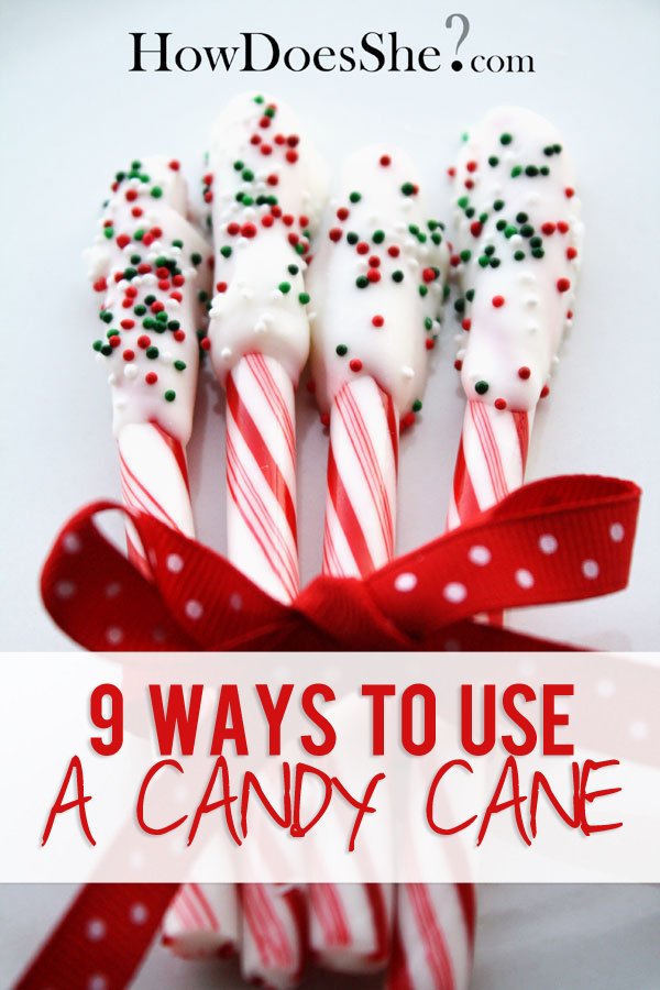 9 Ways to use a candy cane