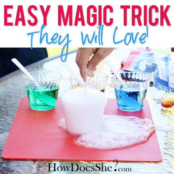 A Magic Tricks They will love