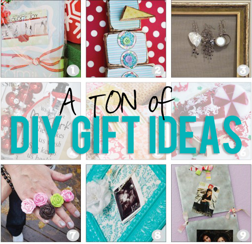 Tons of diy gift ideas for Easy diy birthday gifts
