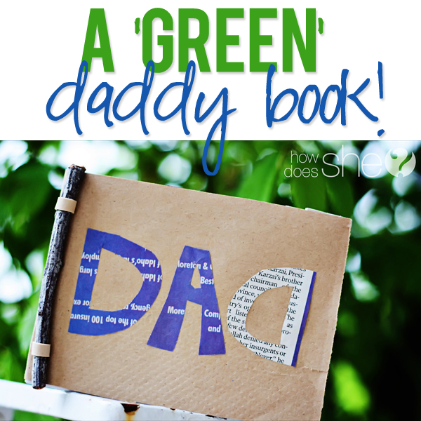 A DIY fathers day book