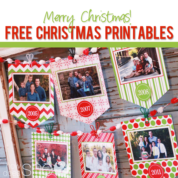 graphic relating to Printable Merry Christmas Banner named Merry Xmas! Right here is your Free of charge Xmas printable!
