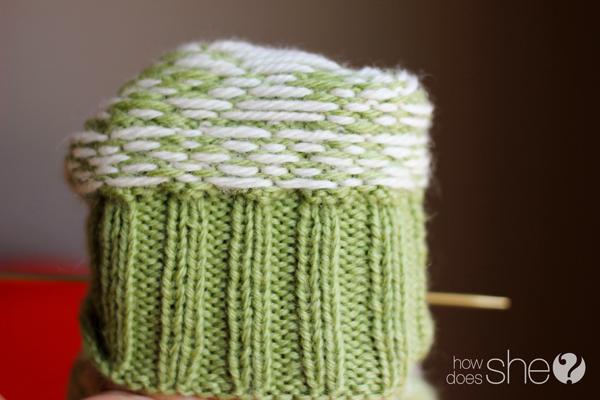 Precious mitten pattern