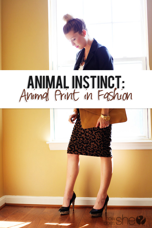 Animal Instinct fashion
