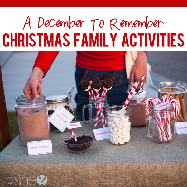Awesome Christmas Activity Ideas