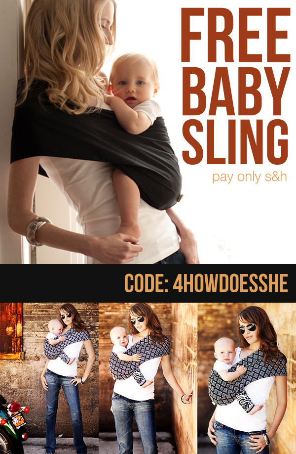 Baby Sling  mothers lounge