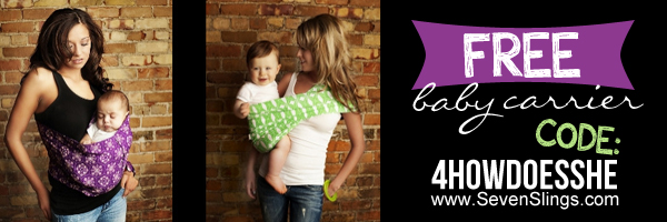 Baby Carrier Banner caley