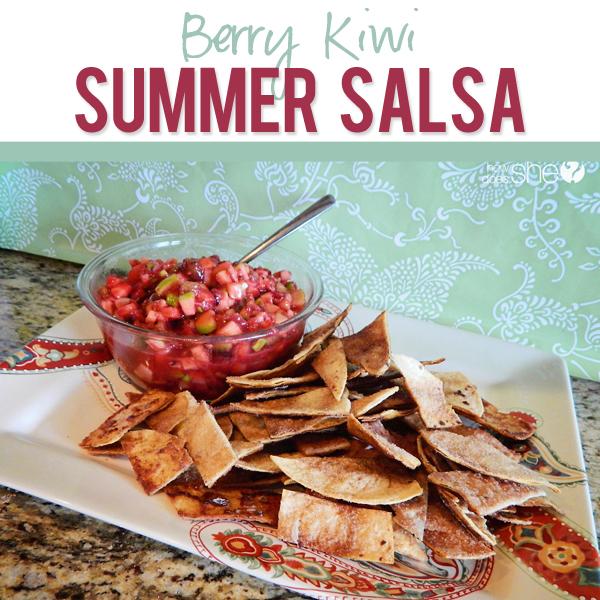 Berry Kiwi Salsa