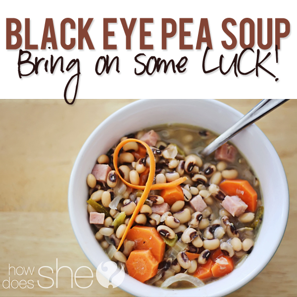 Black Eye Pea Soup