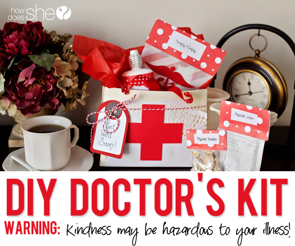The Doctor Is In! Helping Others Make A Happy Recovery with a DIY Doctor's Kit