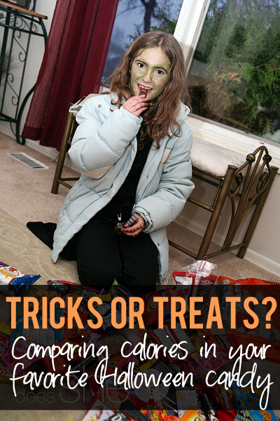 Candy tricks or treats