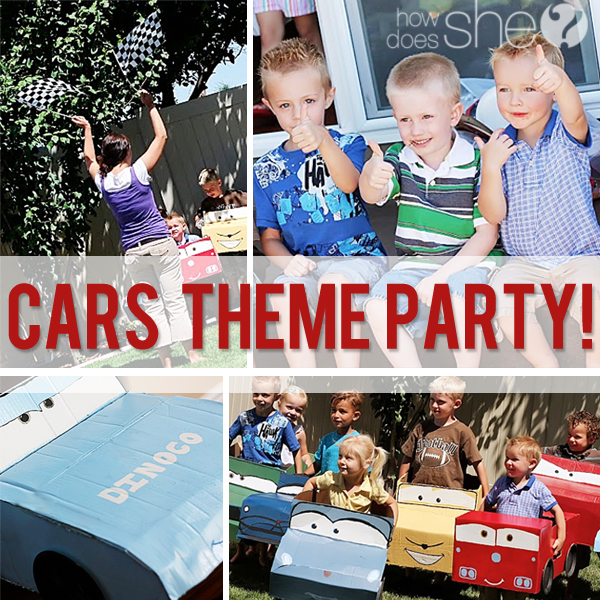 66b3de9bd Cars-Themed Birthday Party: Adorable Themed Food, Decor and Games