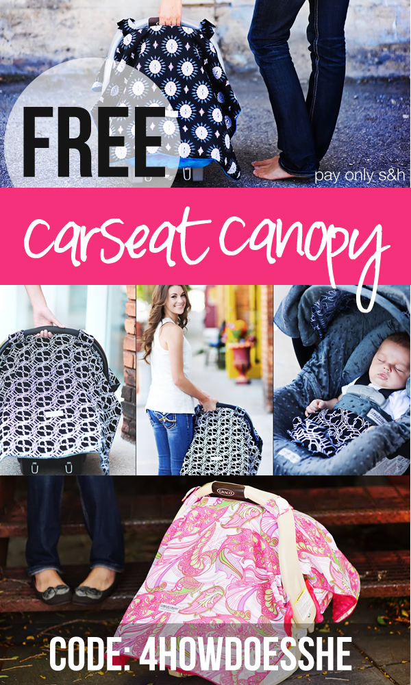 Carseat Canopy mothers lounge