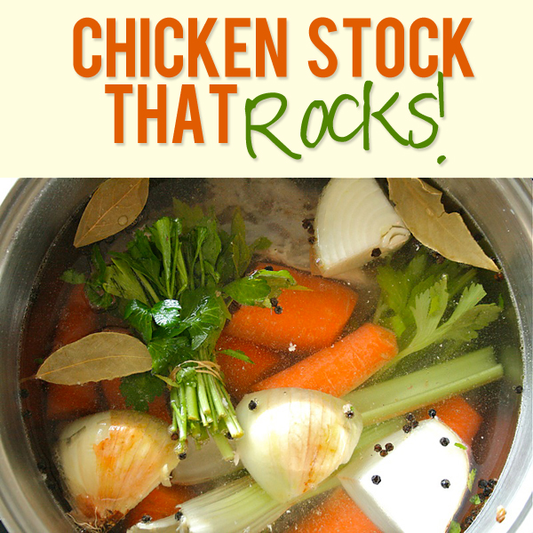 Chicken Stock That Rocks