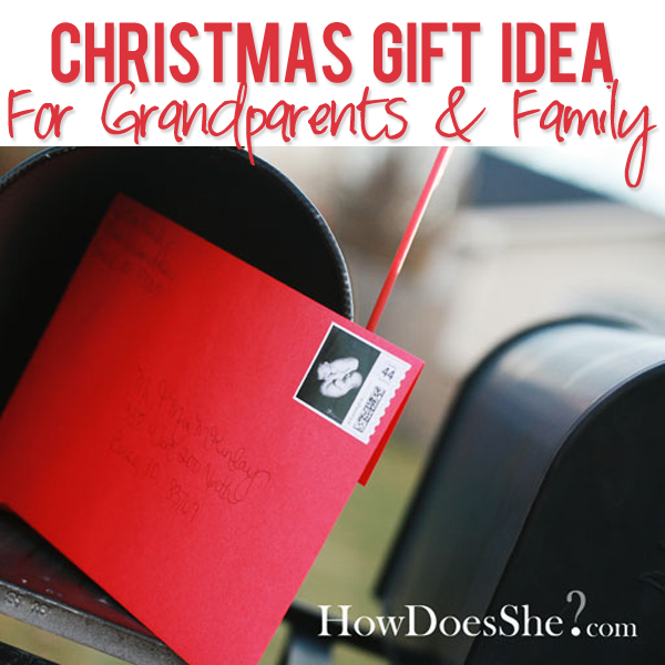 Christmas Gift Idea - Grandparents & Family