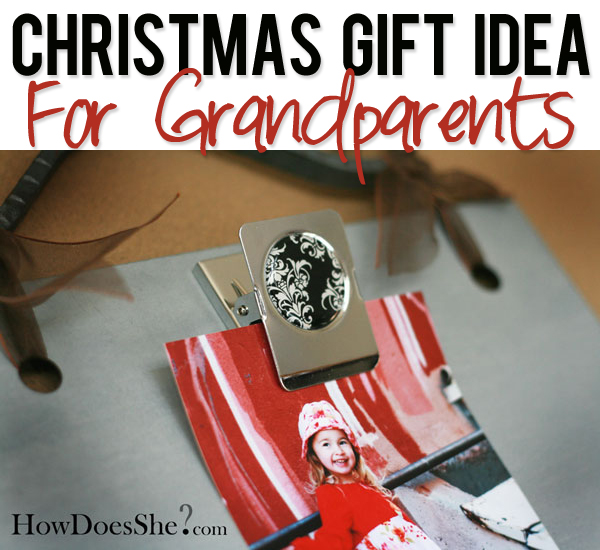 Christmas Gift Idea for Grandparents