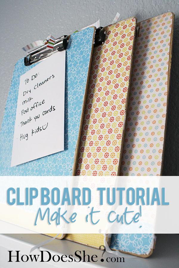 clip board tutorial