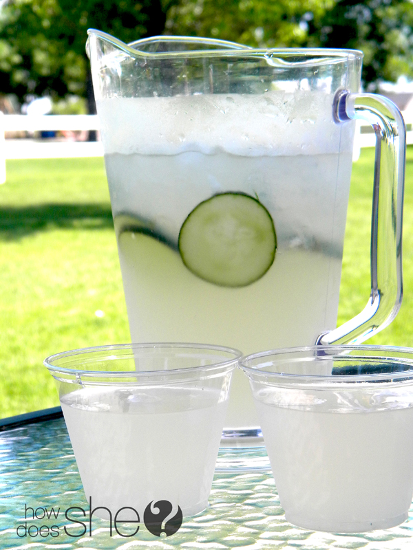 Cool & Refreshing Cucumber Drink